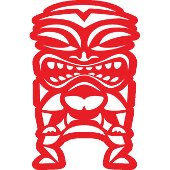Big Tiki Sticker