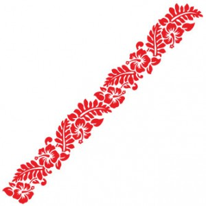 Flower Pattern Sticker