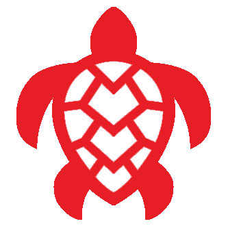 Hawaiian Turtle Honu Sticker