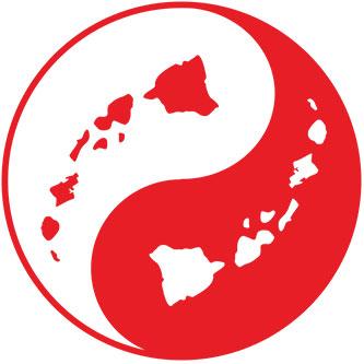 Hawaiian Island Chain Sticker