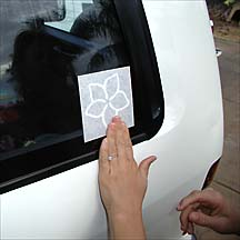 Sticker Application Instructions
