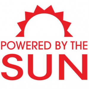 Sun Power Sticker