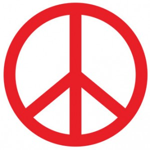 Peace Sign Sticker